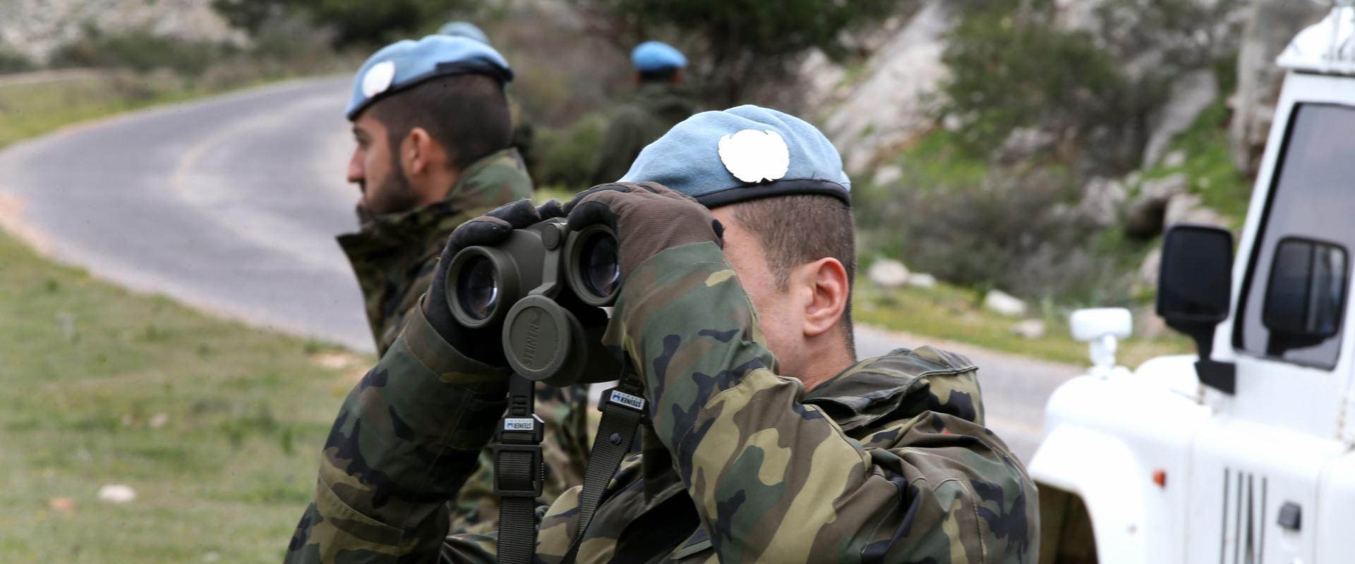 """חיילים בכוח יוניפי""""ל בלבנון"""