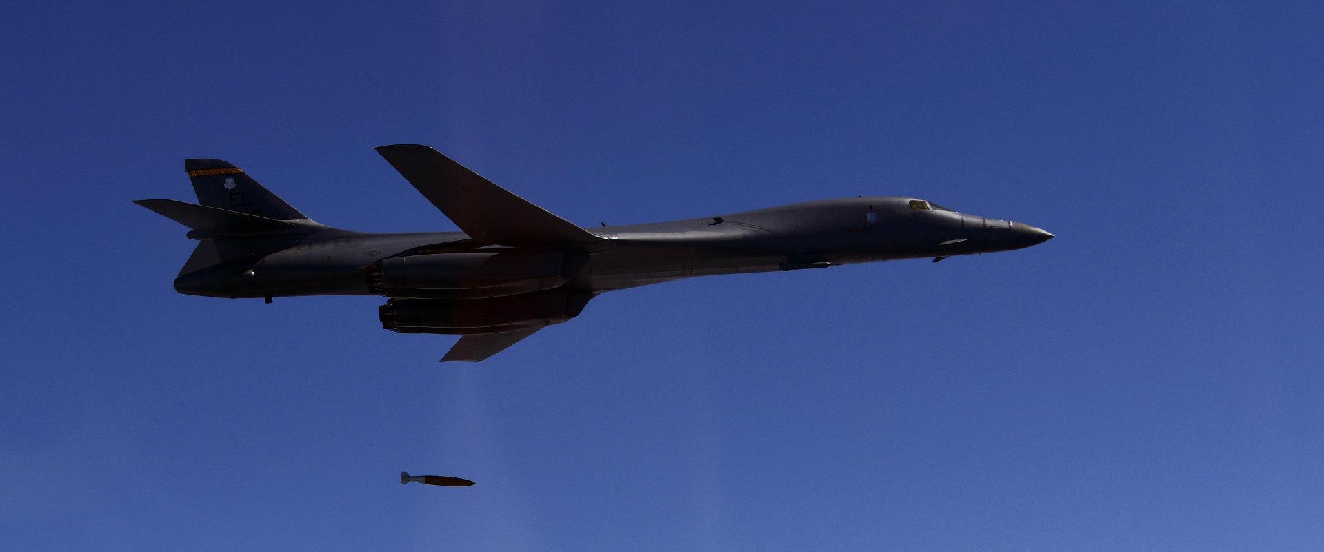 מפציץ B-1B אמריקני