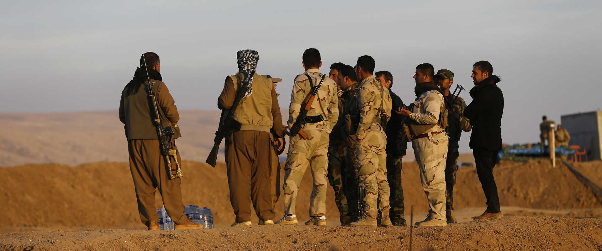 כוחות כורדים בעיראק