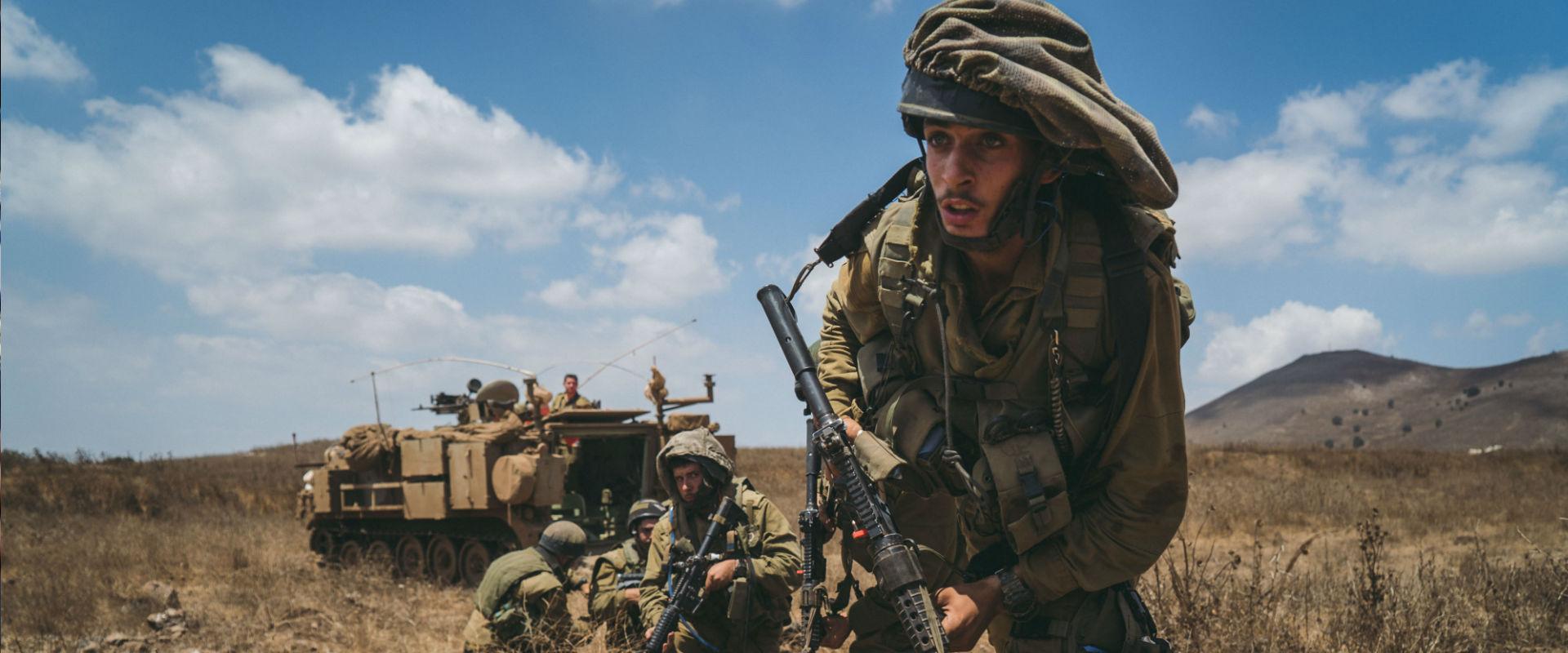 חיילים בפיקוד הצפון (ארכיון)