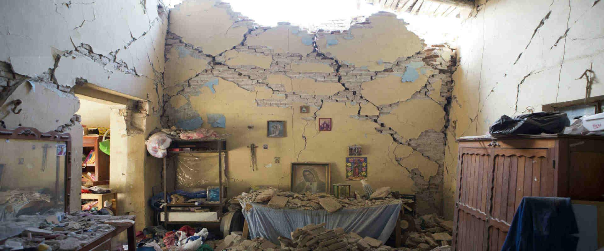 נזקי רעידת האדמה במקסיקו