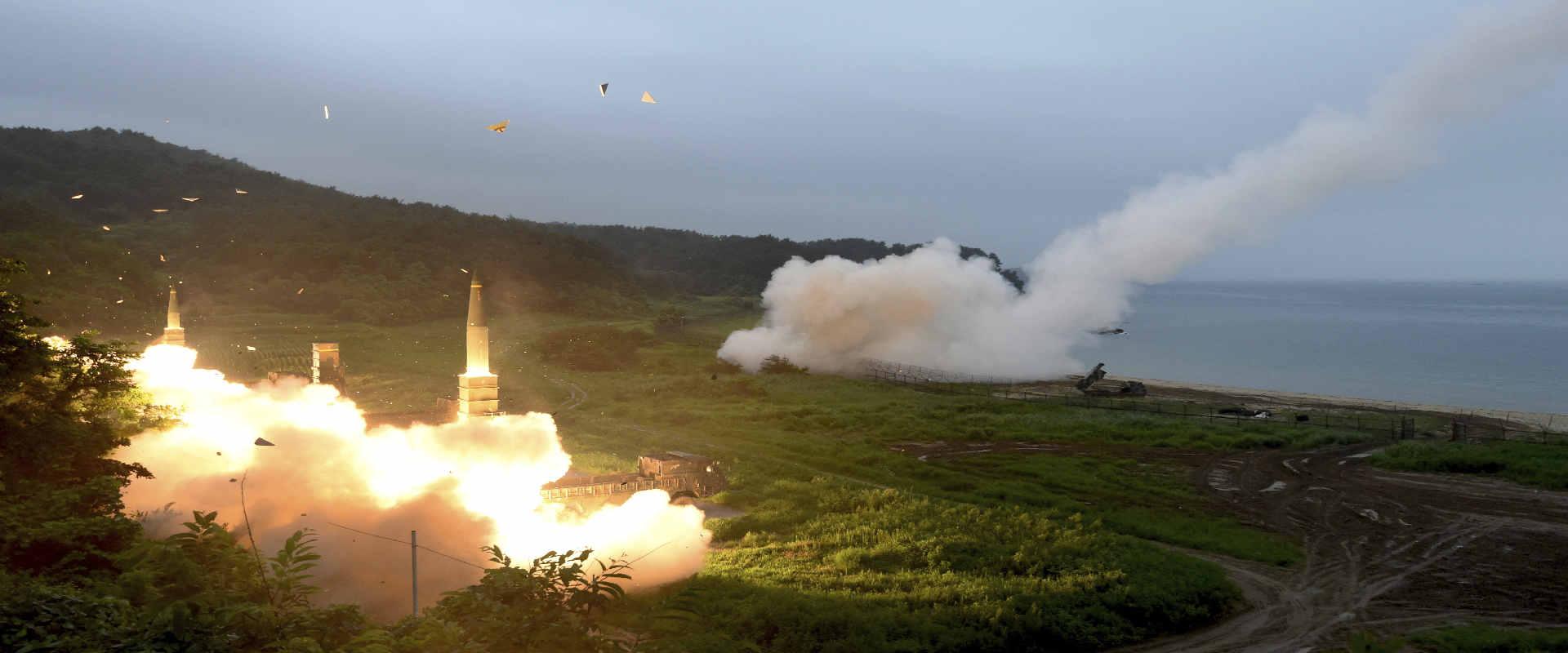 שיגור טיל של קוריאה הצפונית