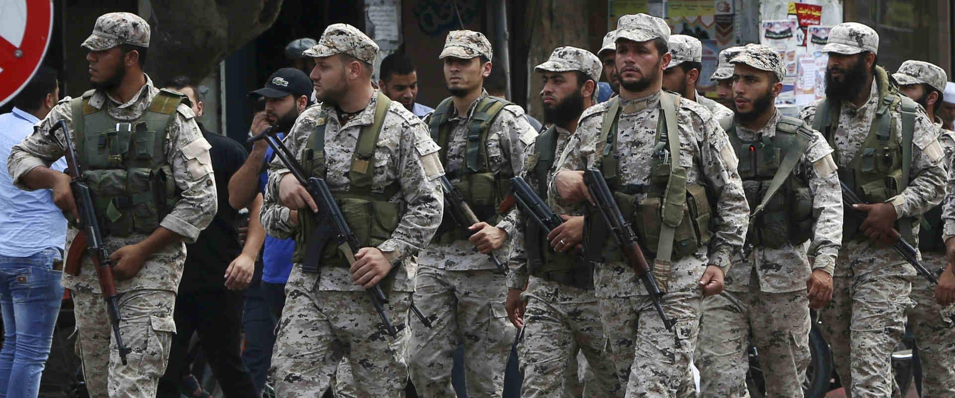 אנשי הזרוע הצבאית של חמאס
