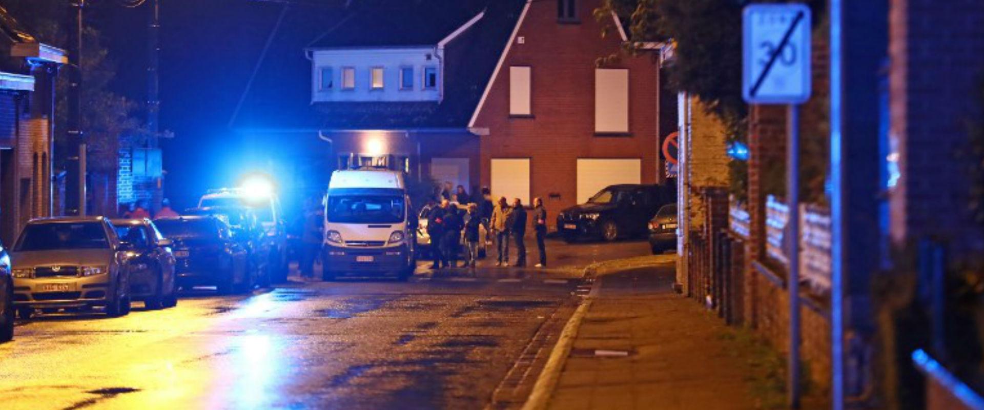 זירת הרצח בעיר מוסקרון