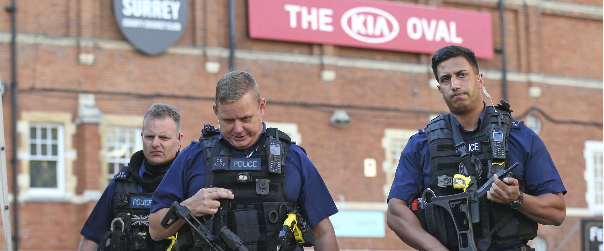 כוחות הביטחון הבריטיים ברחובות לונדון, היום