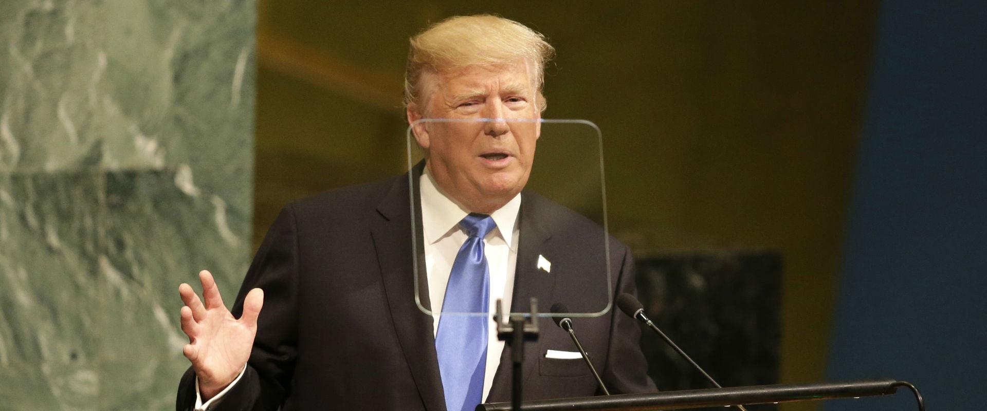 """נשיא ארה""""ב, דונלד טראמפ"""