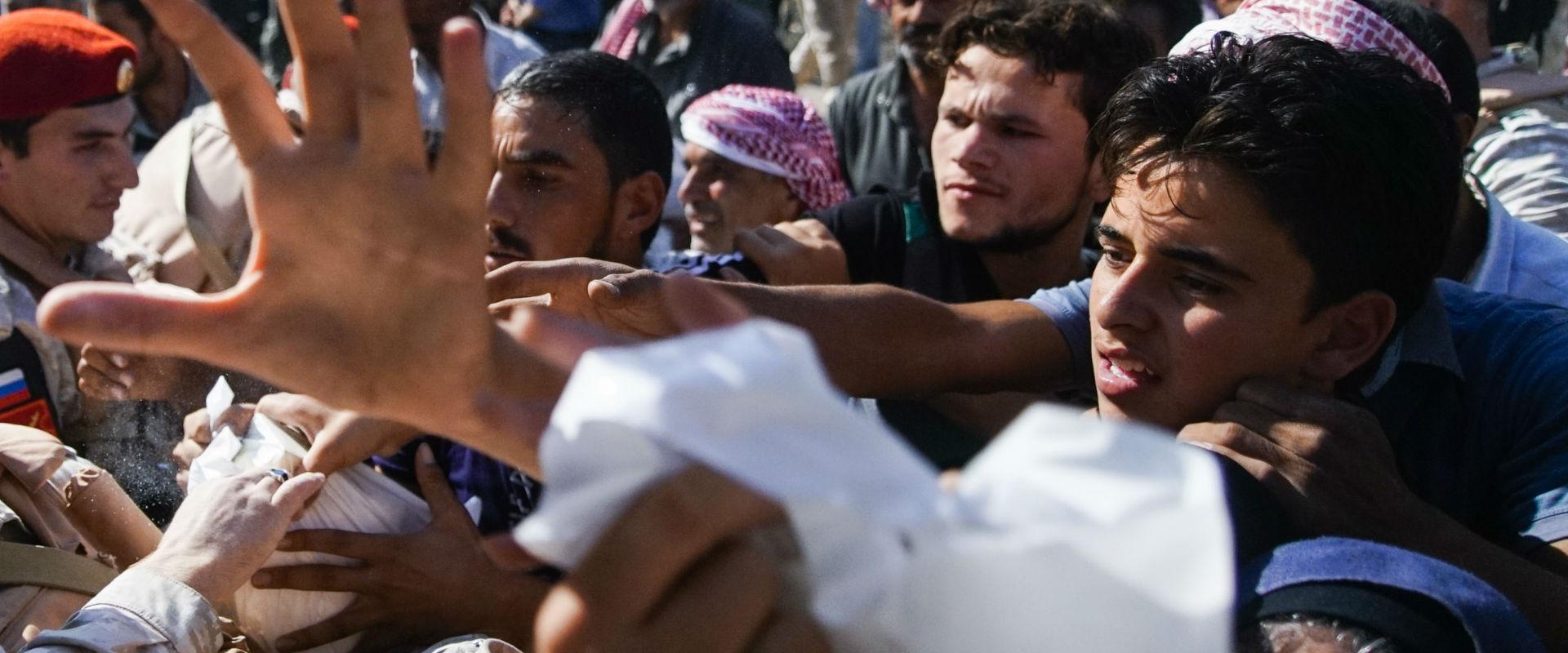 סיוע הומניטרי בסוריה