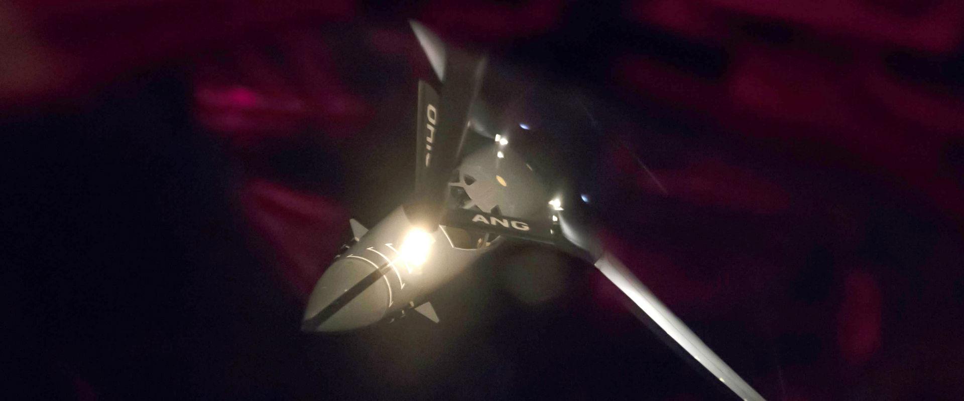 מפציץ אמריקני בזמן תדלוק מעל שמי קוריאה הצפונית, ה