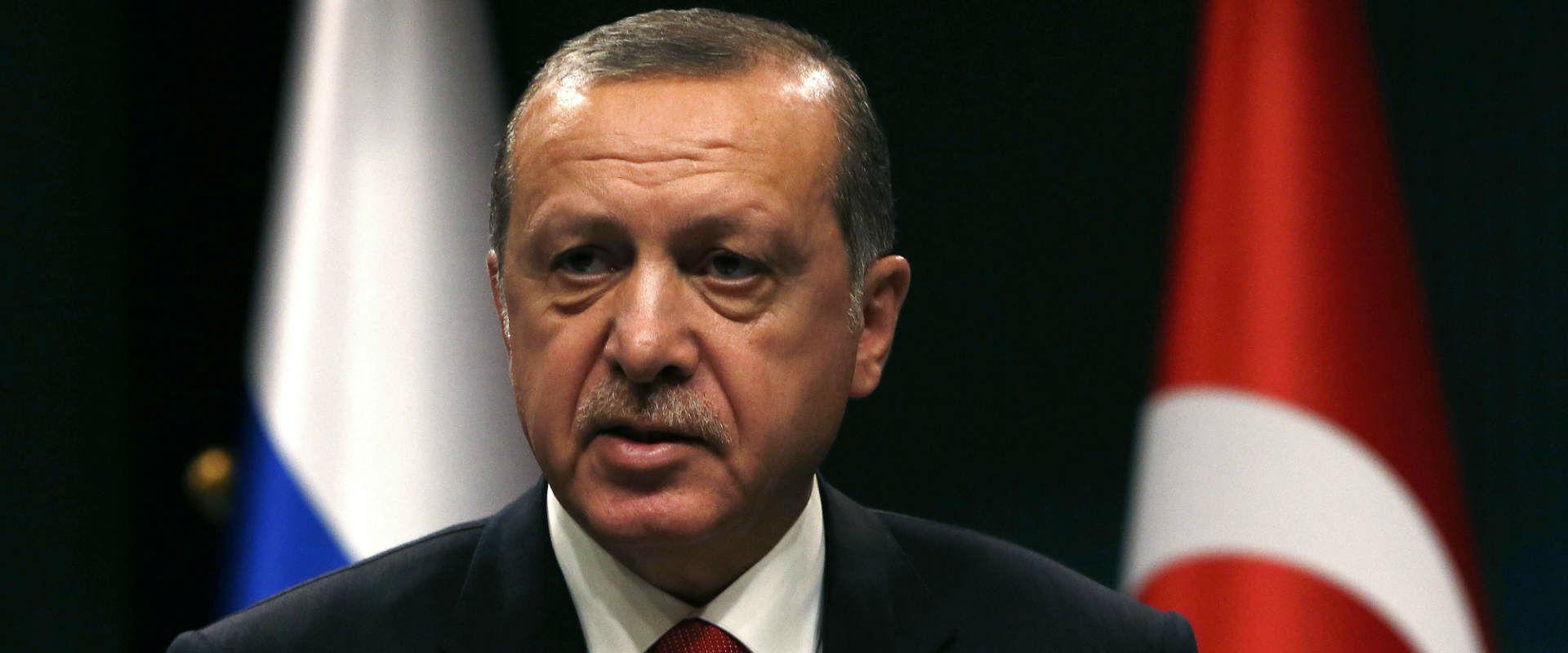 נשיא טורקיה טאיפ ארדואן