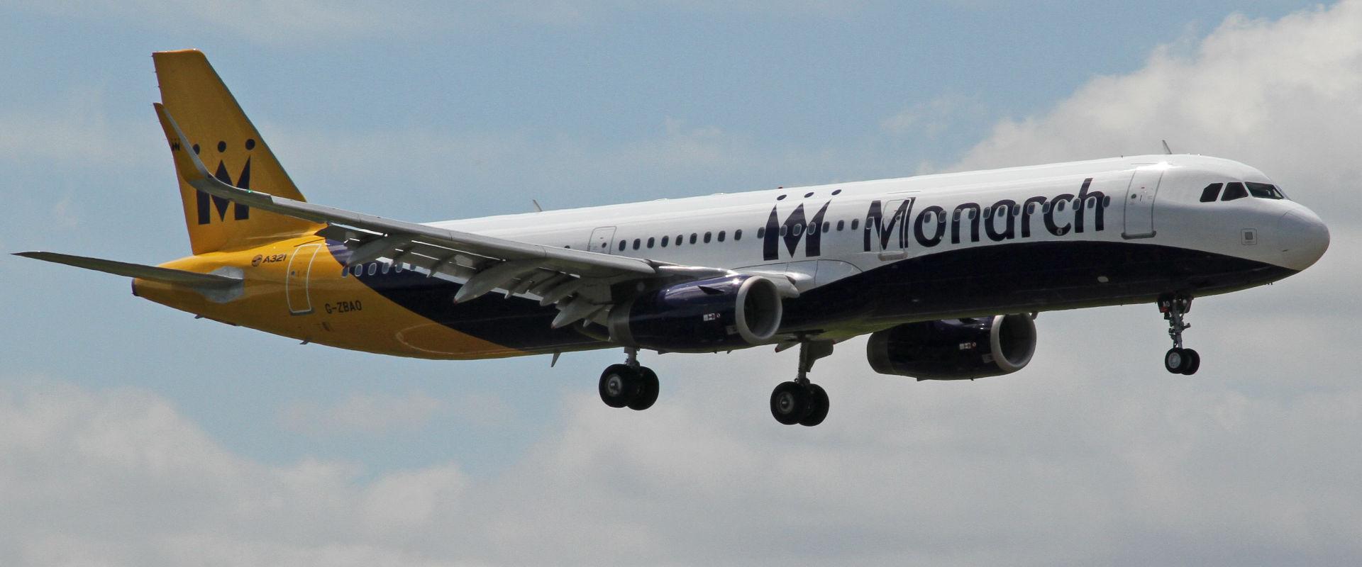 מטוס של חברת מונרך