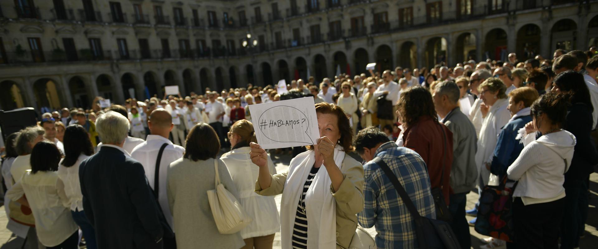 הפגנות בספרד