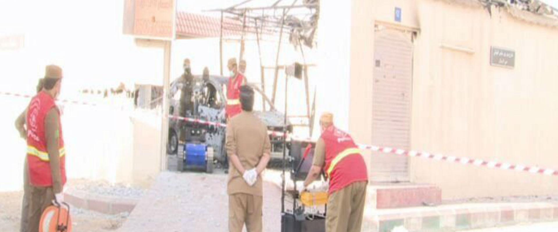 זירת האירוע בג'דה, היום