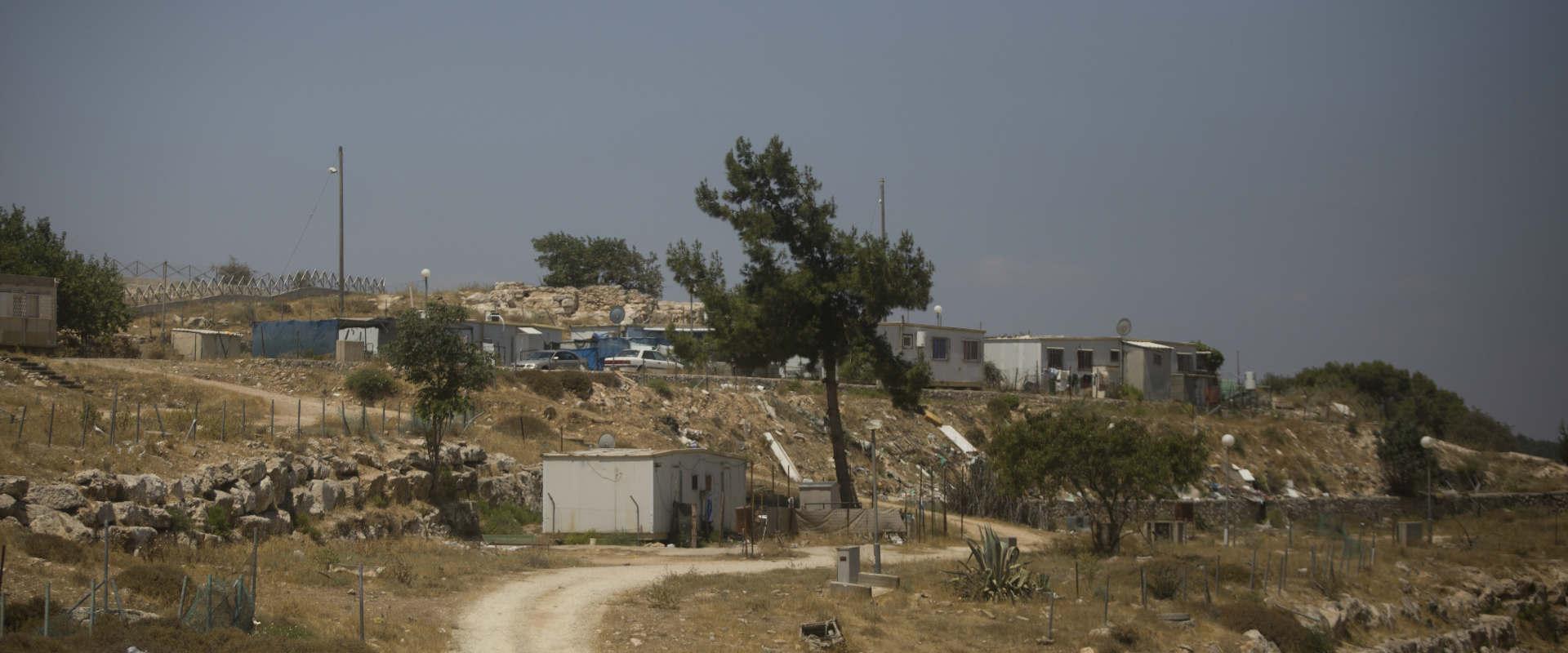 בנייה ברמת המטוס בירושלים (ארכיון)
