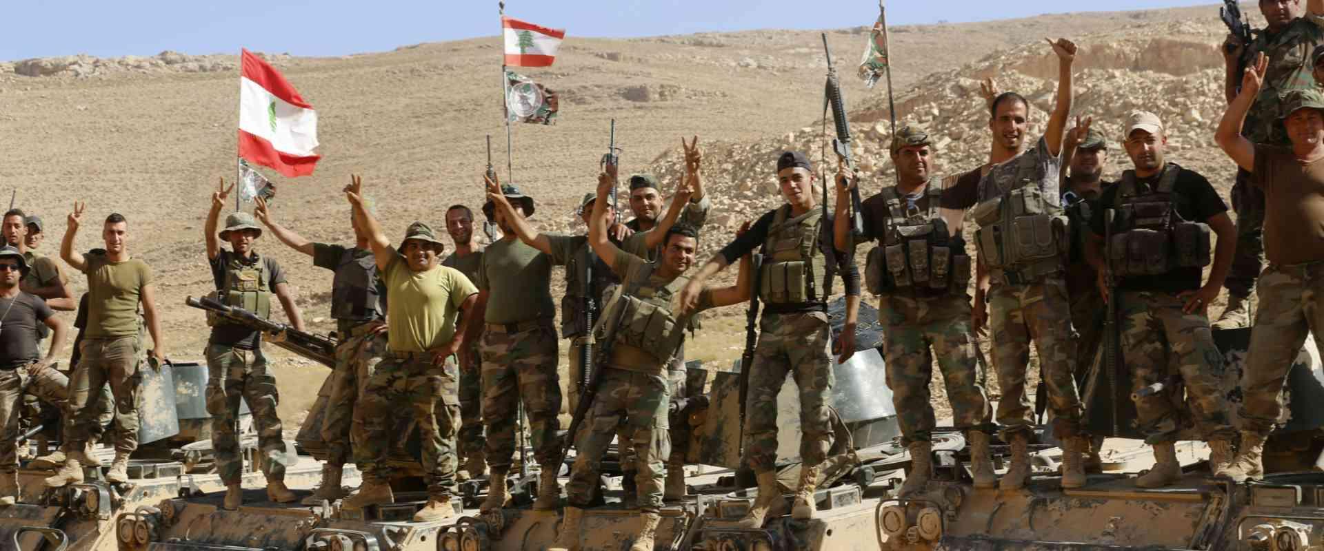חיילי צבא לבנון בסיור בבעל-בק