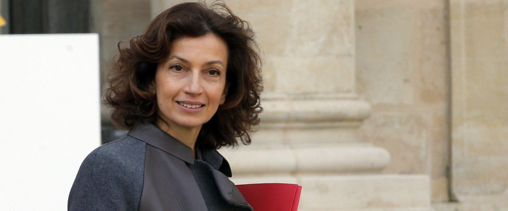 שרת התרבות לשעבר של צרפת, אודרי אזולאי