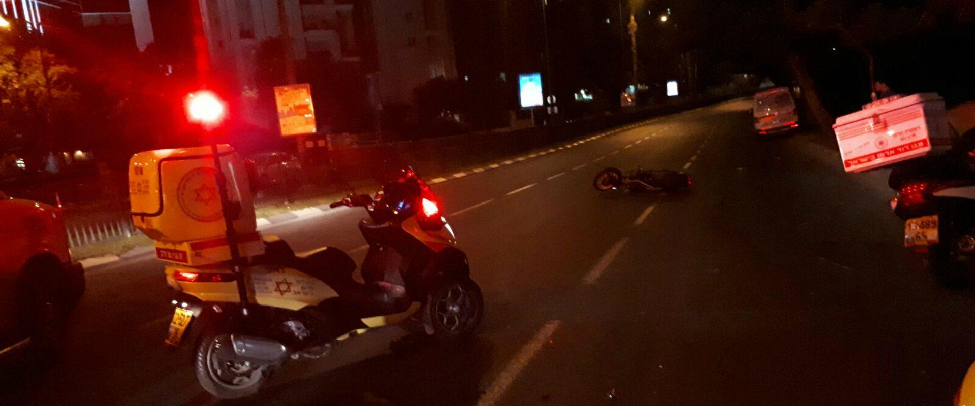 תאונת הדרכים ברמת גן הלילה