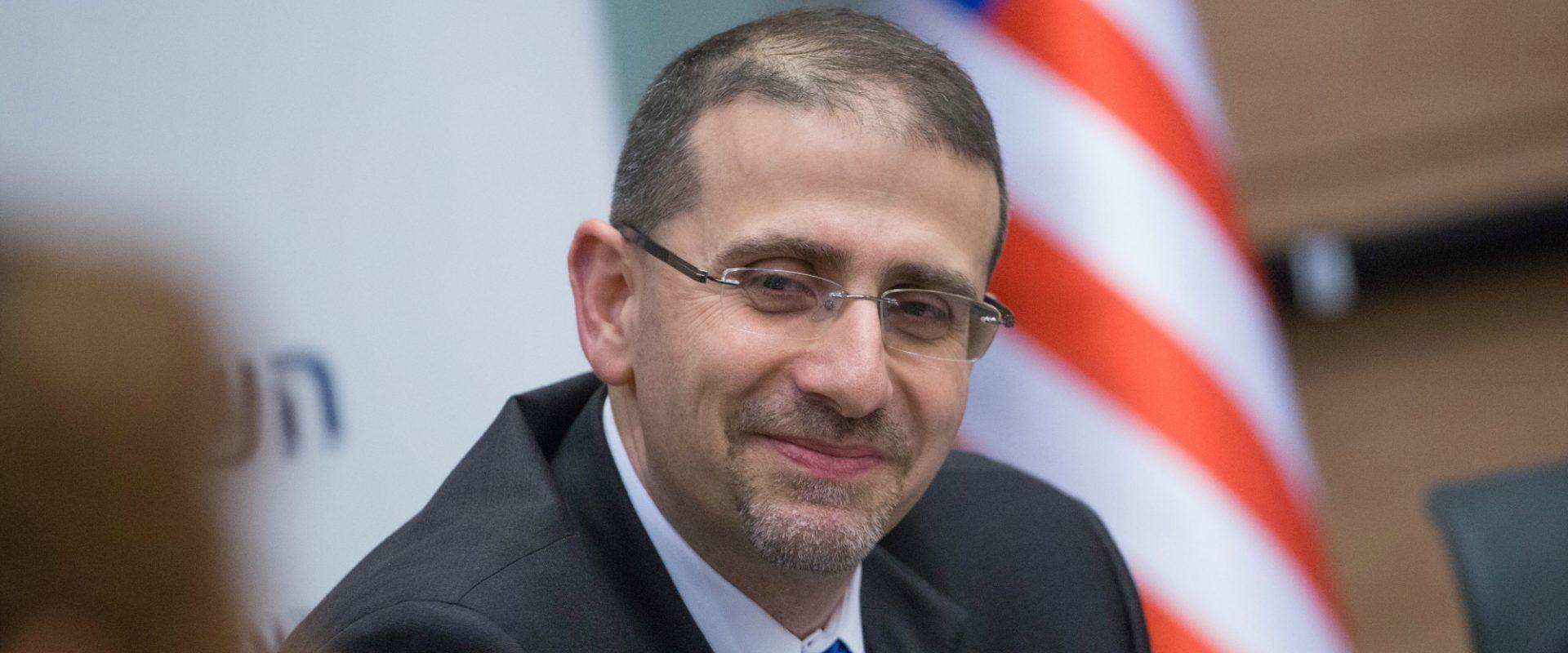 """שגריר ארה""""ב לשעבר בישראל, דן שפירו"""
