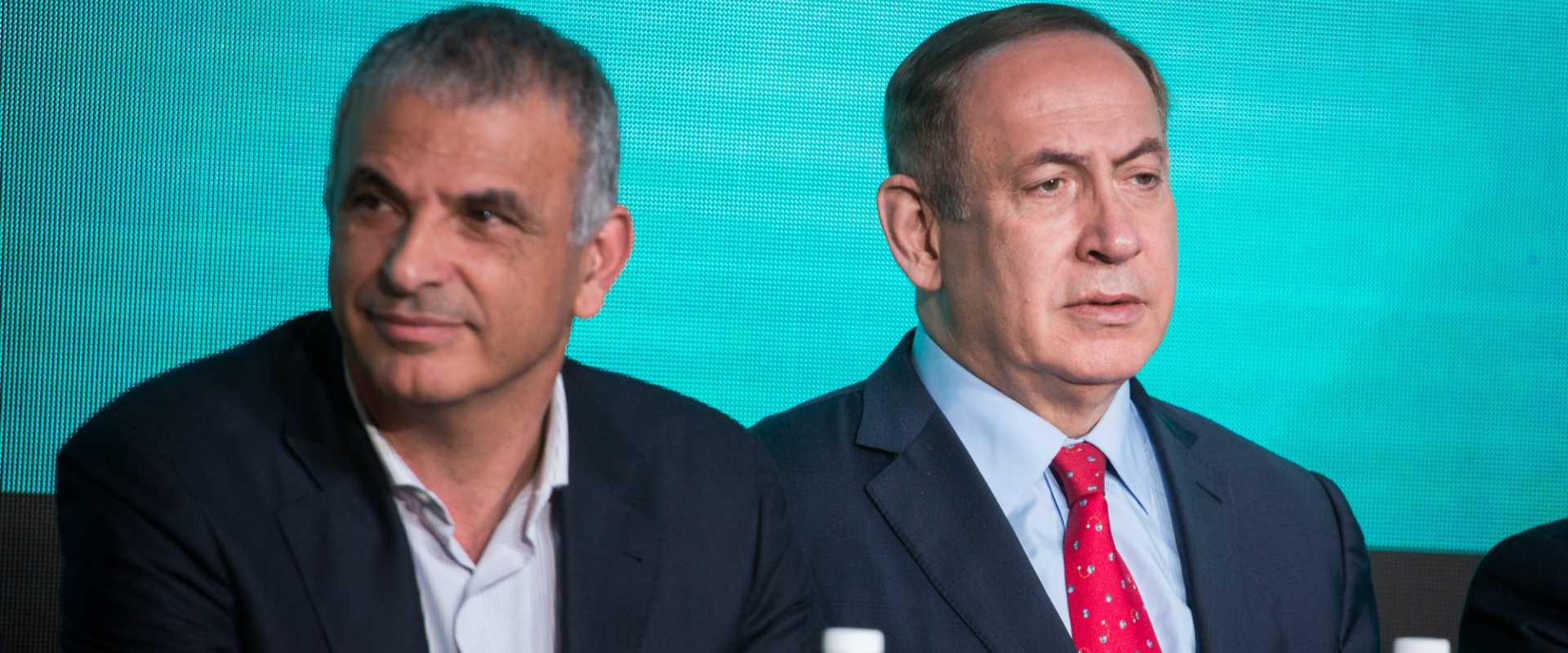 ראש הממשלה בנימין נתניהו ושר האוצר משה כחלון