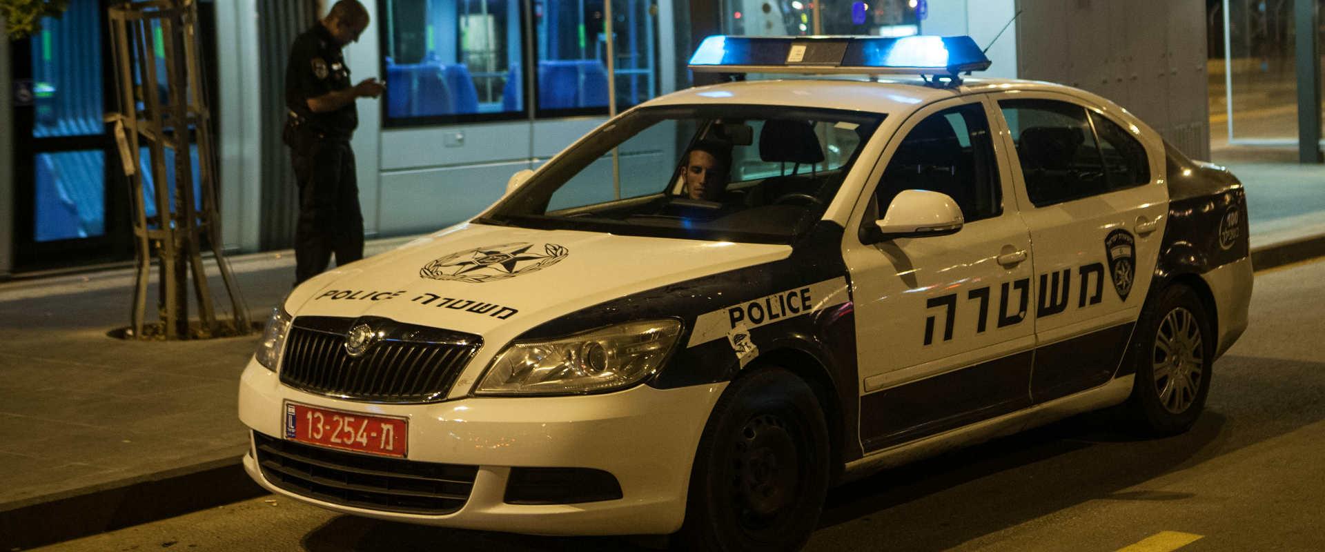 ניידת משטרה בירושלים