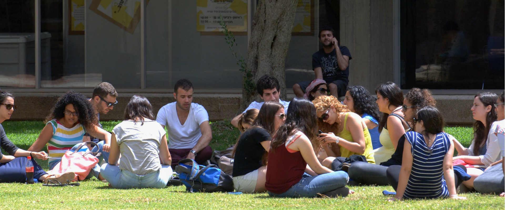 סטודנטים באוניברסיטת בן גוריון, 2013