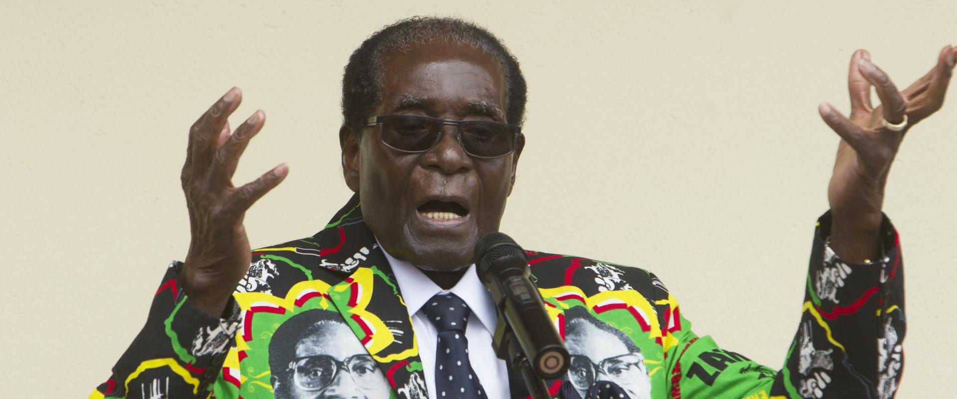 שליט זימבבואה רוברט מוגאבה