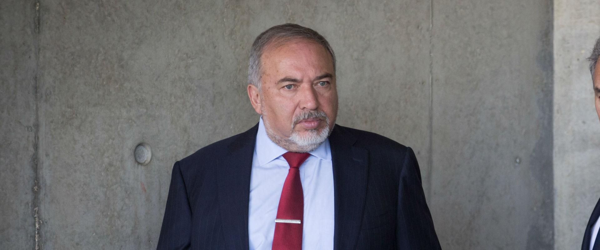 שר הביטחון אביגדור ליברמן, היום