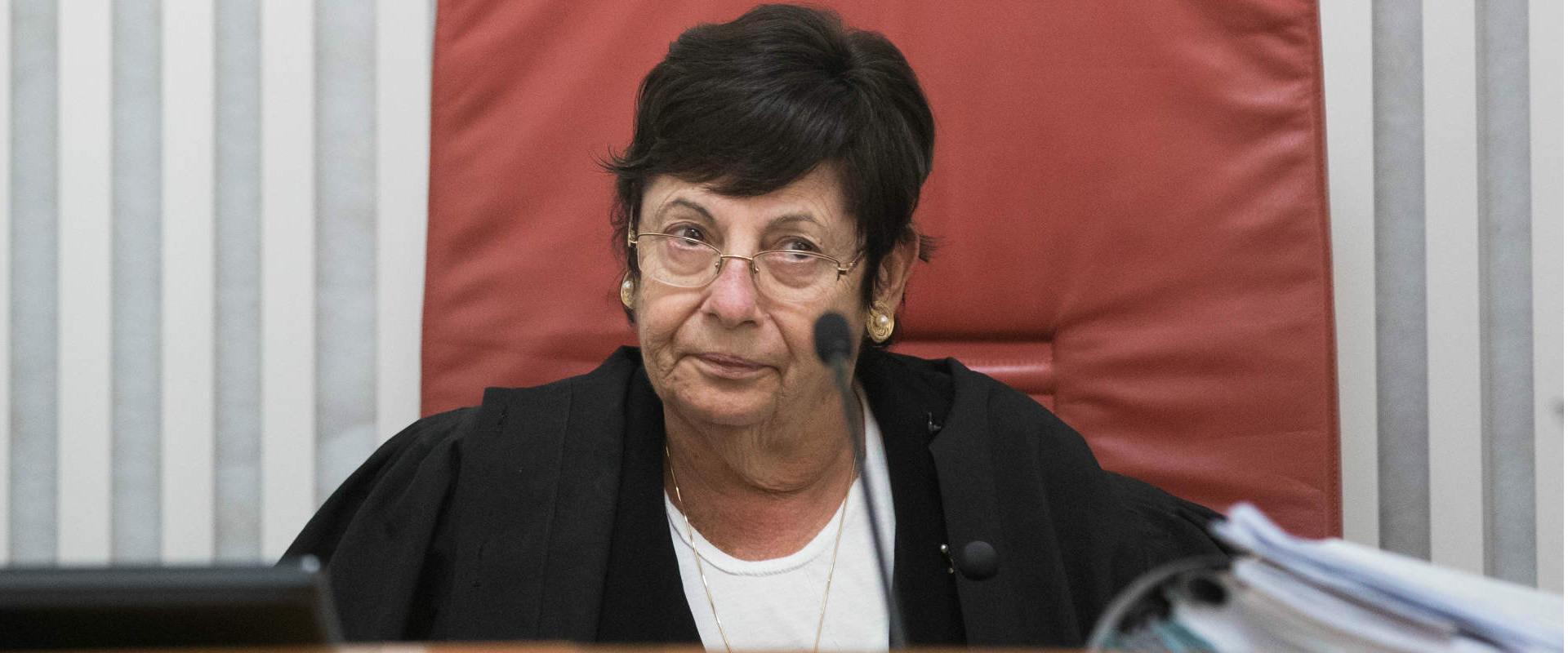 נשיאת בית המשפט העליון היוצאת מרים נאור
