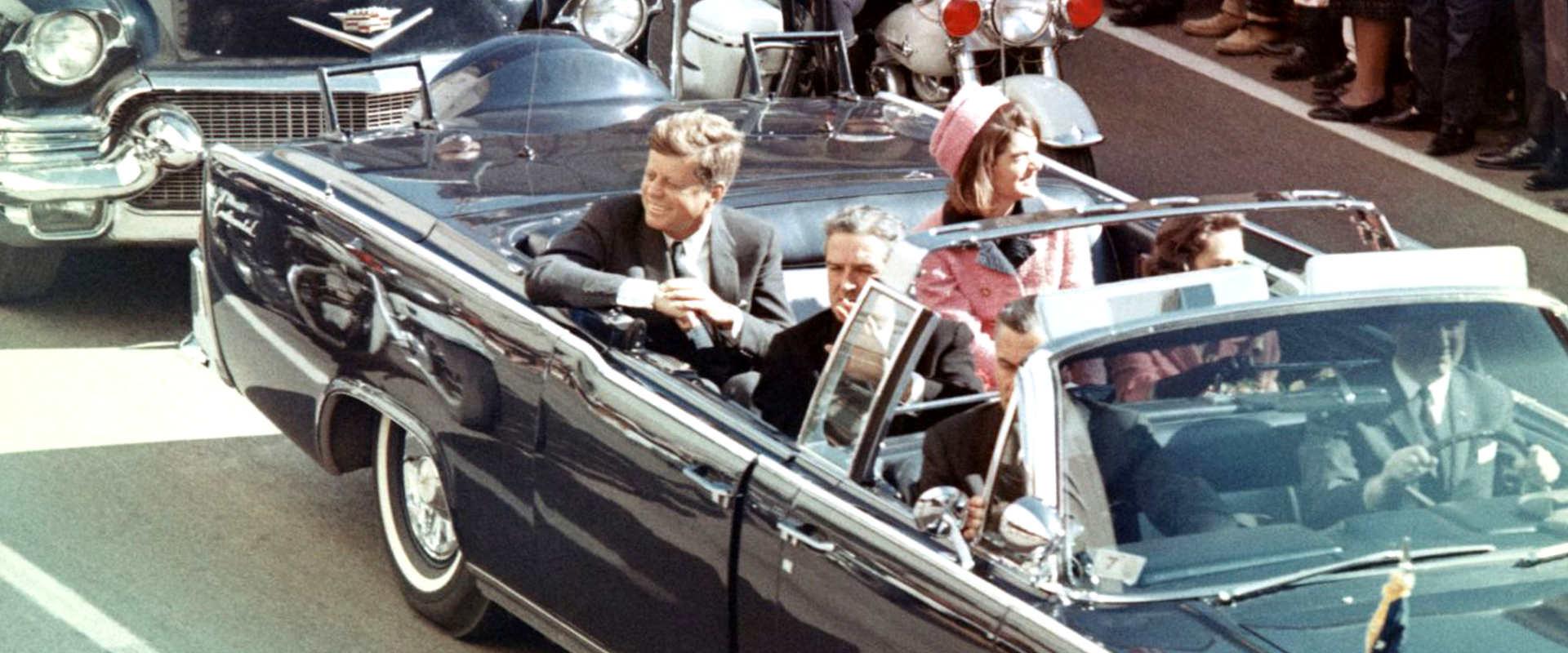 הלימוזינה של הנשיא קנדי ביום ההתנקשות
