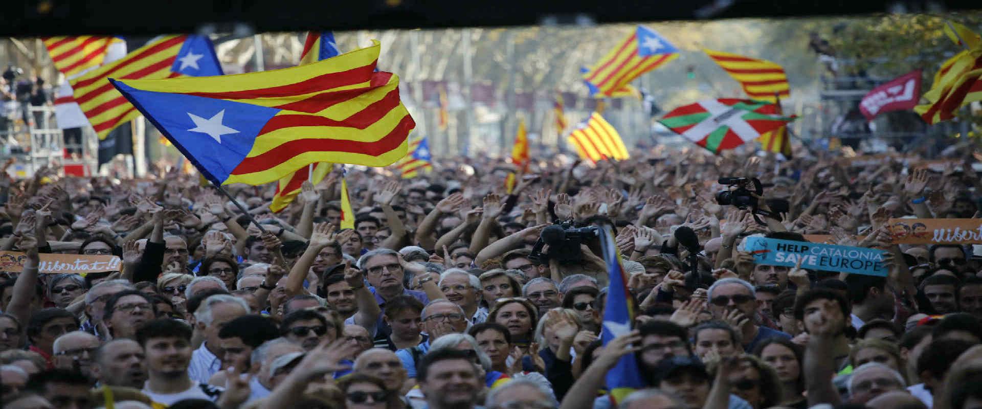 הפגנה בעד עצמאות קטלוניה