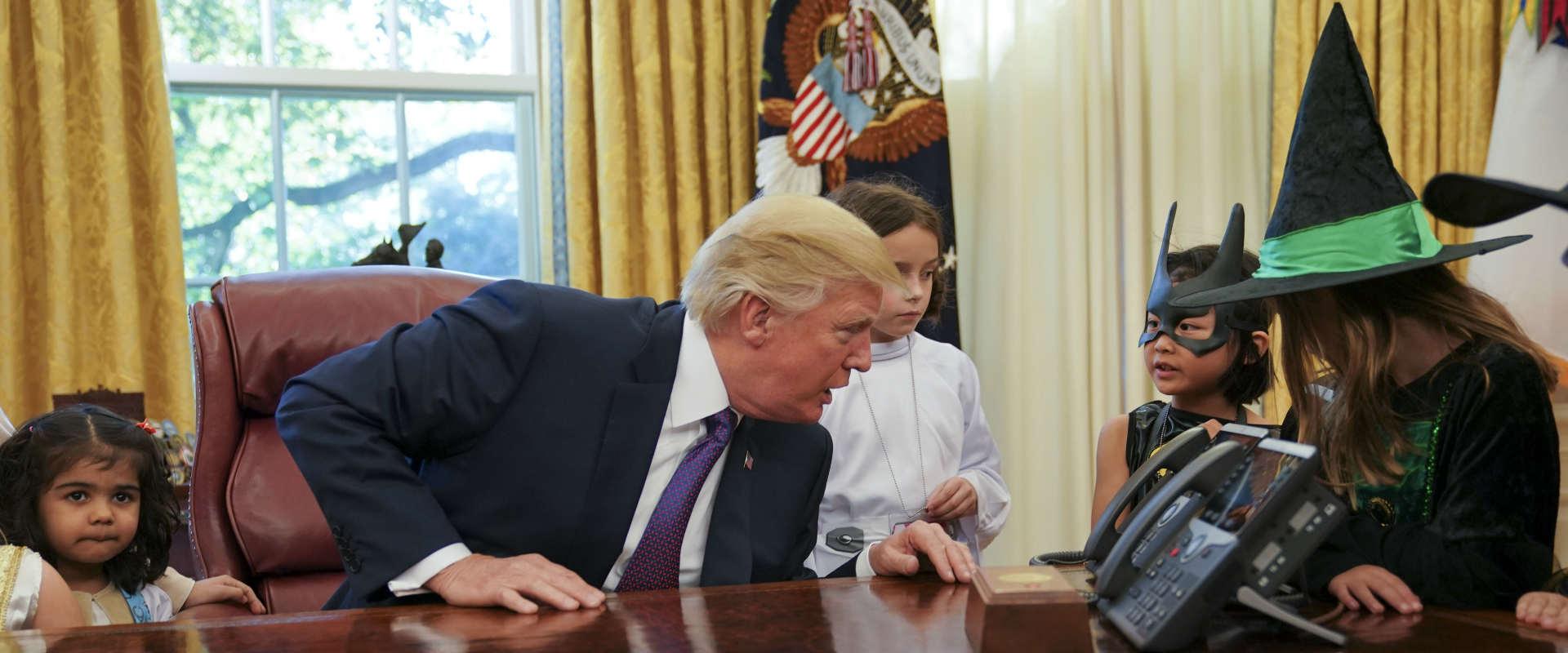 נשיא ארצות הברית, דונלד טראמפ