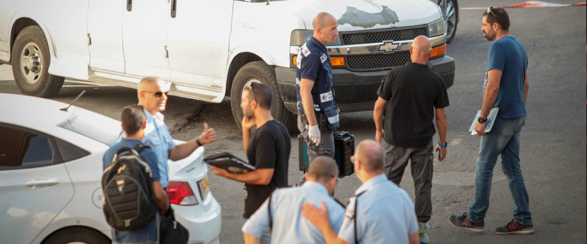 זירת הרצח של ראובן שמרלינג בכפר קאסם