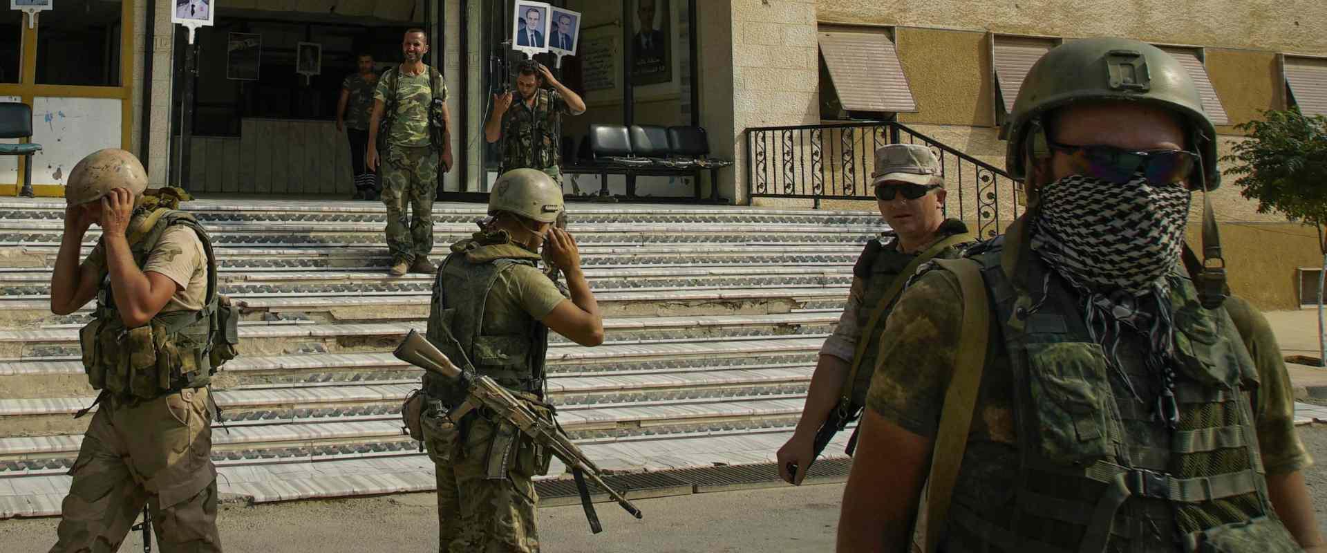כוחות רוסיים בדיר א-זור, סוריה