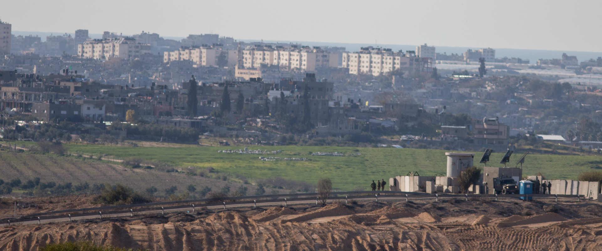גבול ישראל-עזה, בתחילת השנה