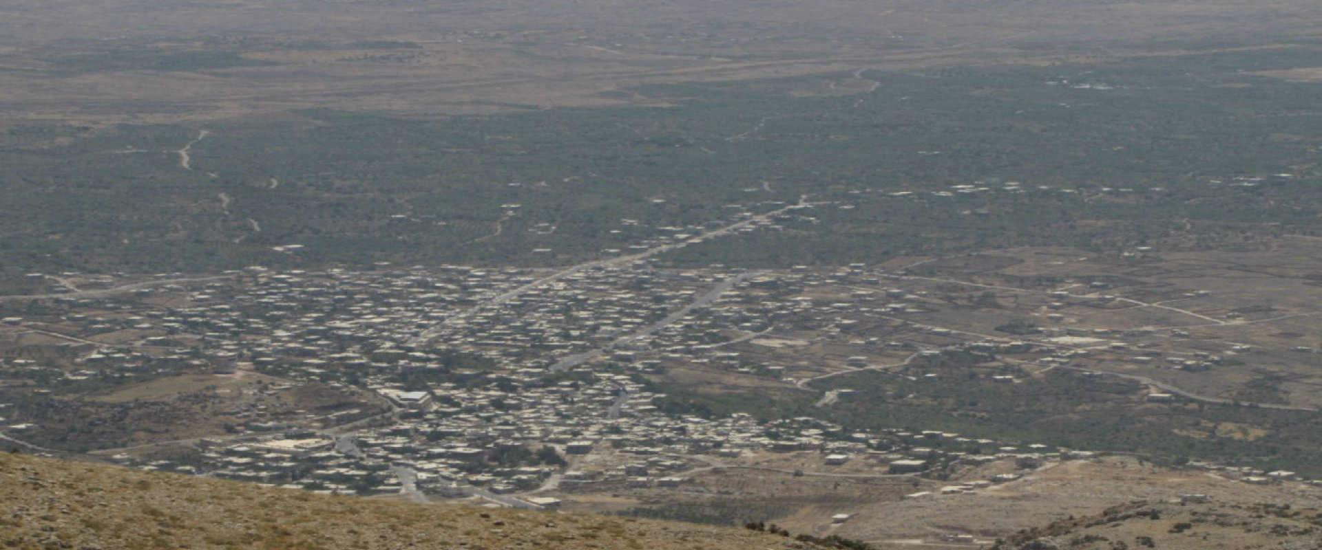 הכפר חאדר שבגולן הסורי