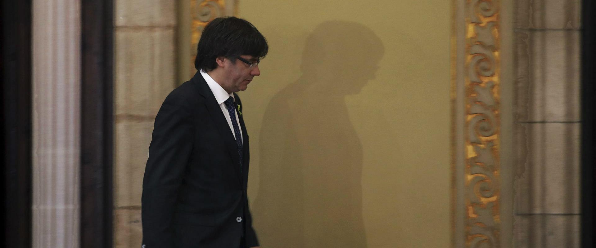 נשיא קטלוניה המודח קרלס פוג'דמון
