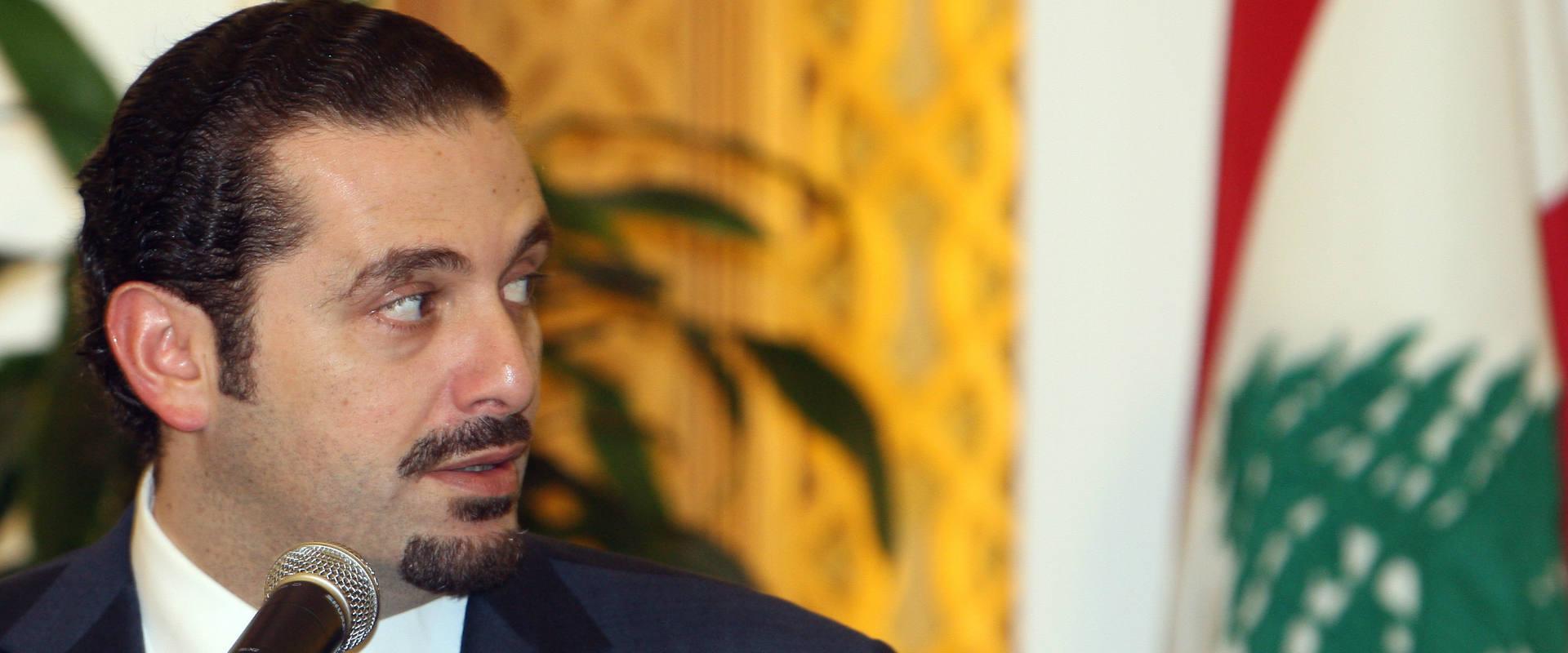 ראש ממשלת לבנון המתפטר, סעד אל-חרירי