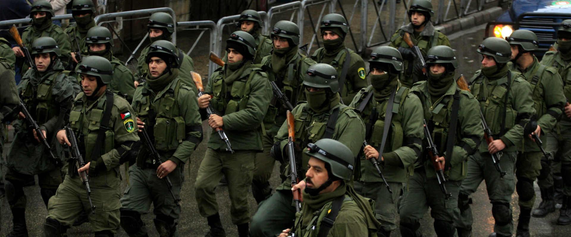 כוחות מנגנוני הביטחון הפלסטיניים