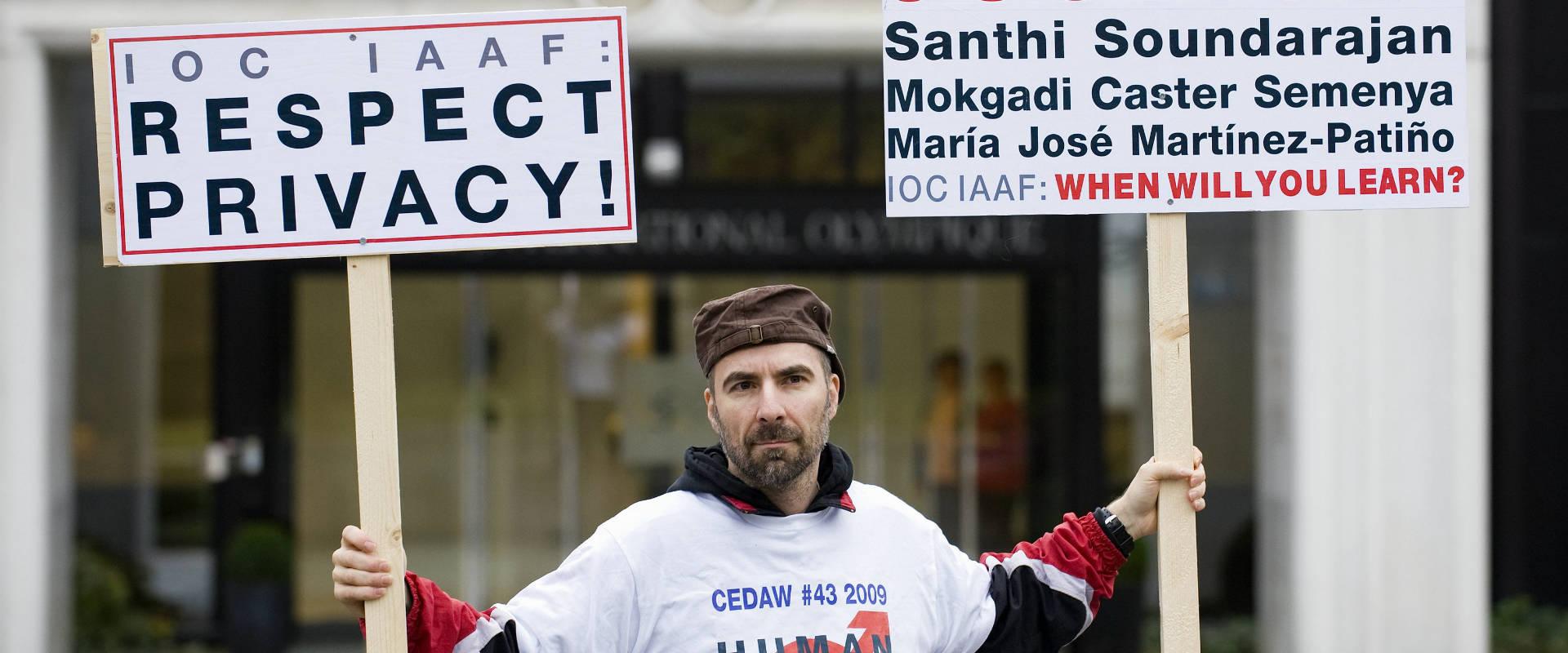 """הפגנה לקידום זכויות להט""""ב בשוויץ (ארכיון)"""