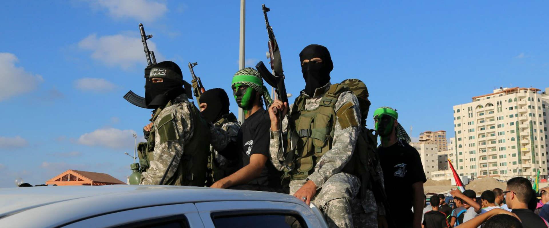 פעילי הזרוע הצבאית של חמאס