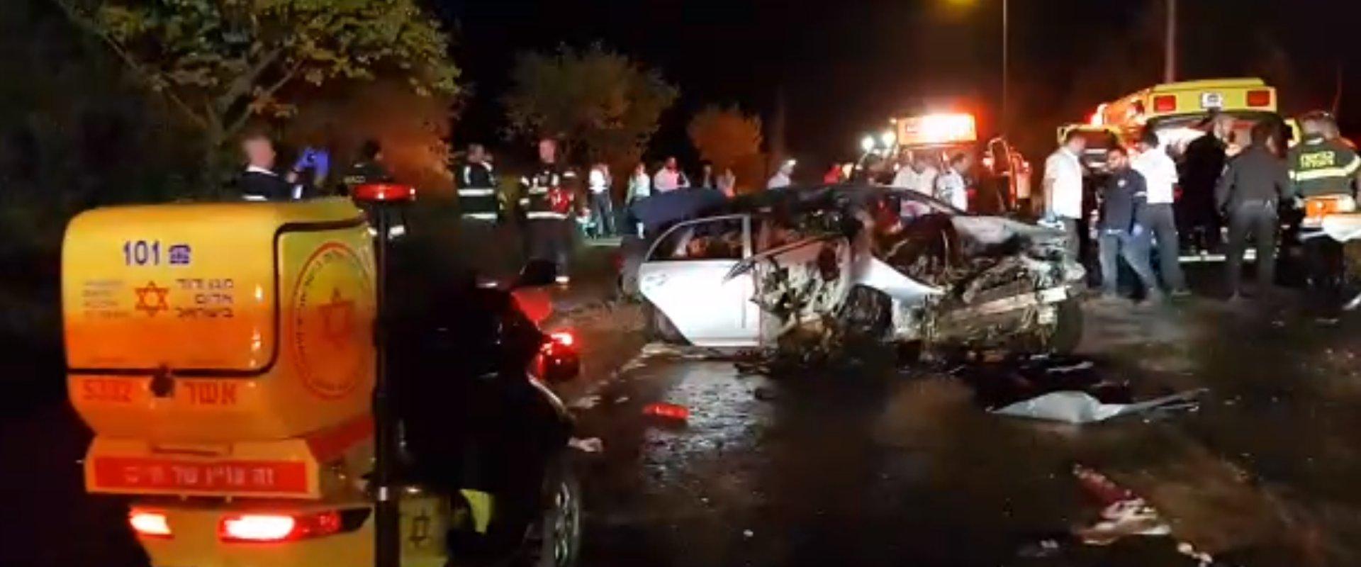 תאונת הדרכים בכרמיאל