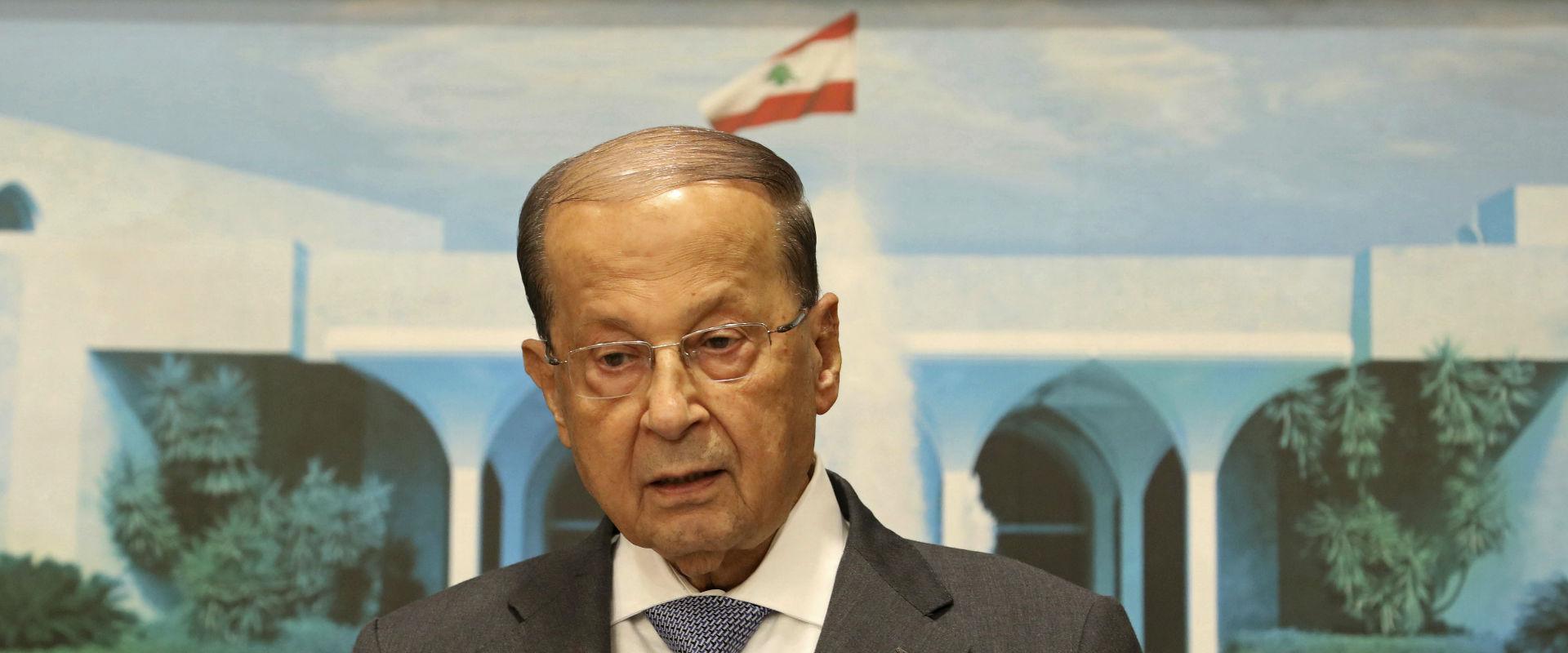 נשיא לבנון מישל עוון