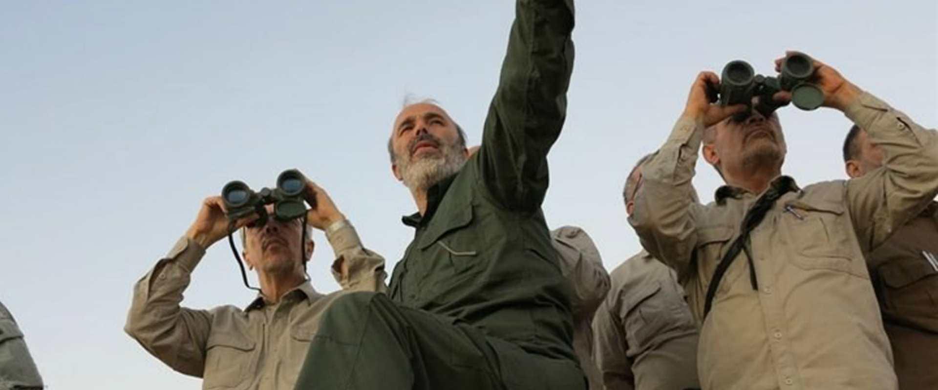 מפקד הכוחות המזויינים של איראן בביקור בסוריה