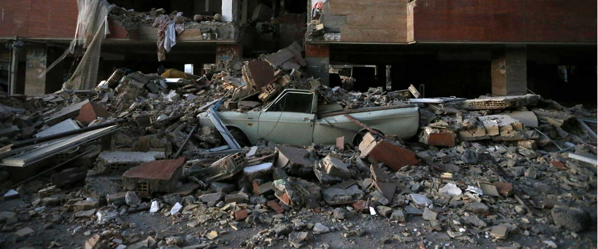 תושבים בבגדאד יצאו מבתיהם כשהרגישו את רעידת האדמה