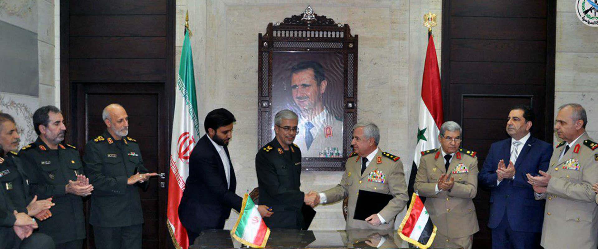 """רמטכ""""לי סוריה ואיראן בפגישה בדמשק"""