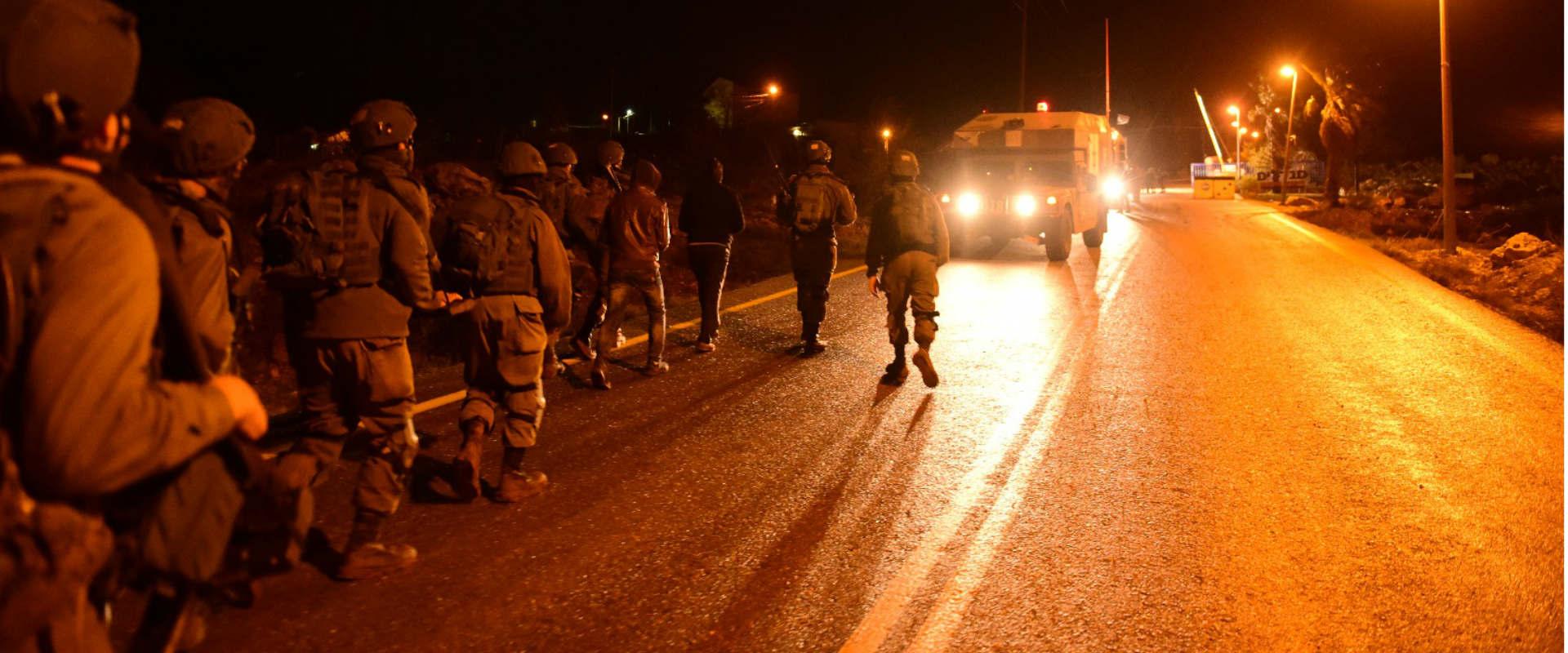 פעילות כוחות הביטחון, הלילה סמוך לקוסרא