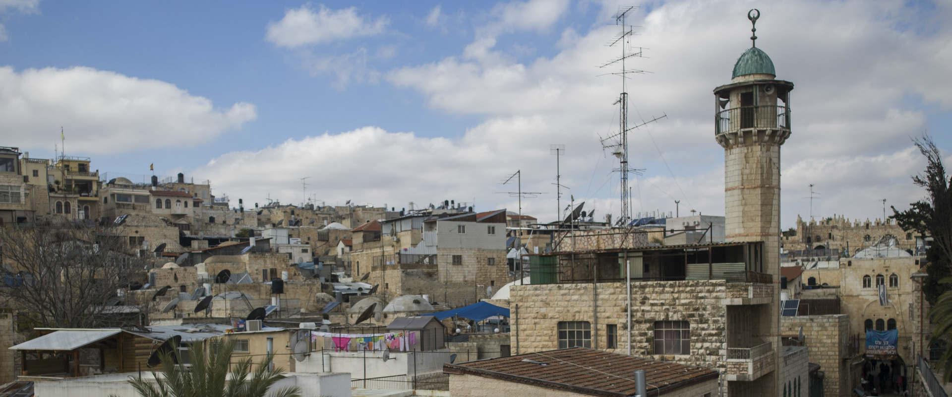 מסגד בעיר העתיקה בירושלים, 2016