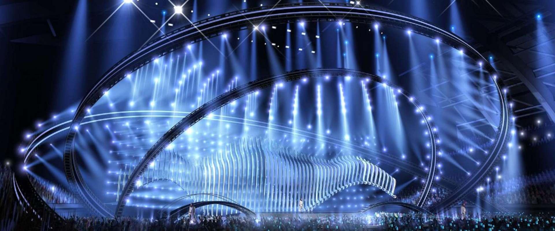הבמה של האירוויזיון בליסבון