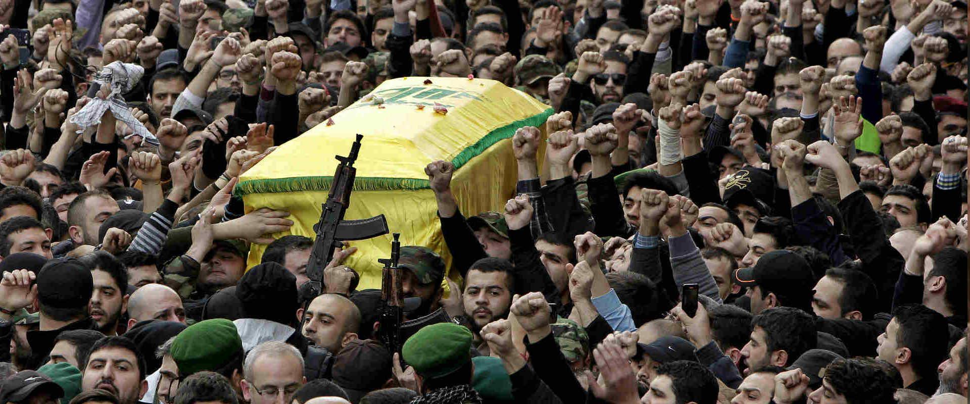 הלווייתו של ג'יהאד מורנייה בלבנון