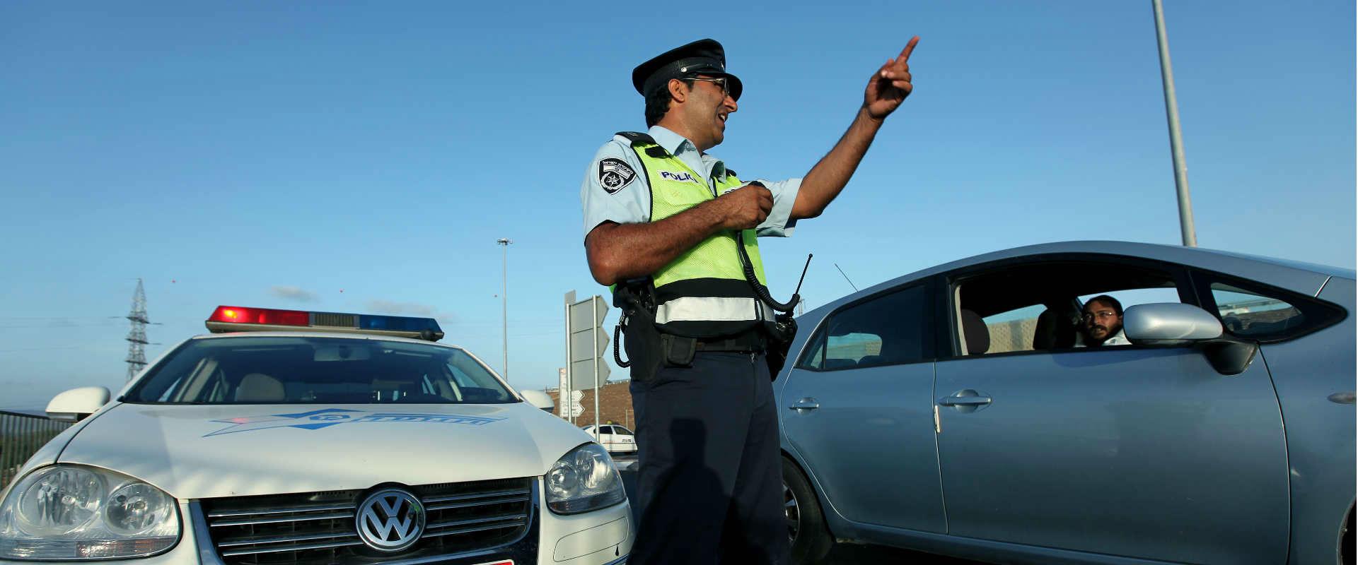 משטרת התנועה (ארכיון)
