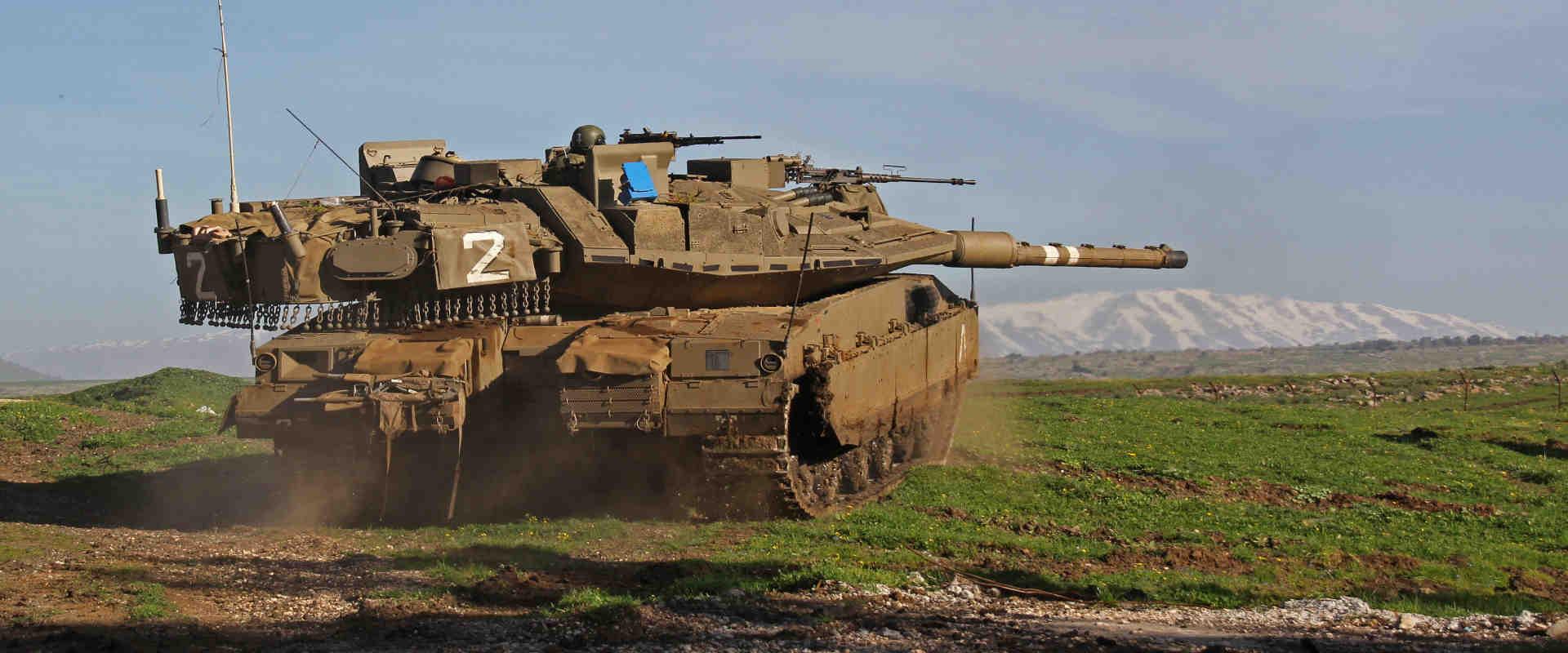 טנק של חיל שריון